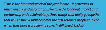 SAGE quote from USAID's Bill Breed