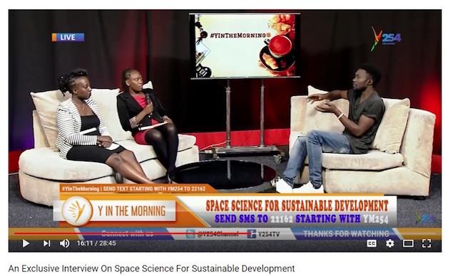 RCMRD team members interviewed on Kenya TV program > SERVIR