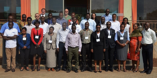 Group photo of participants of TimeSync workshop